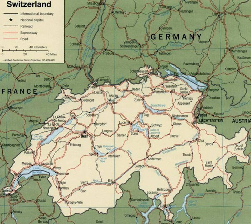 La svizzera minaccia di rivelare i nomi dei correntisti for Nomi dei politici italiani