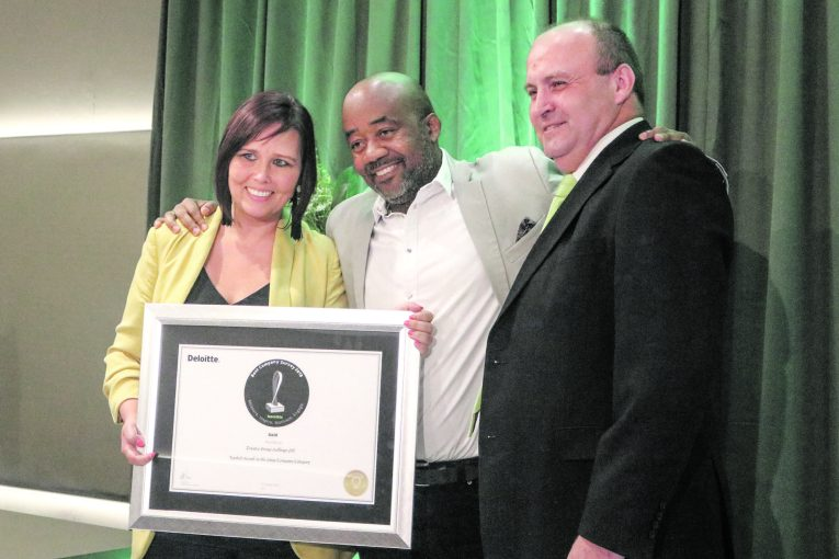 Trustco awarded for excellence