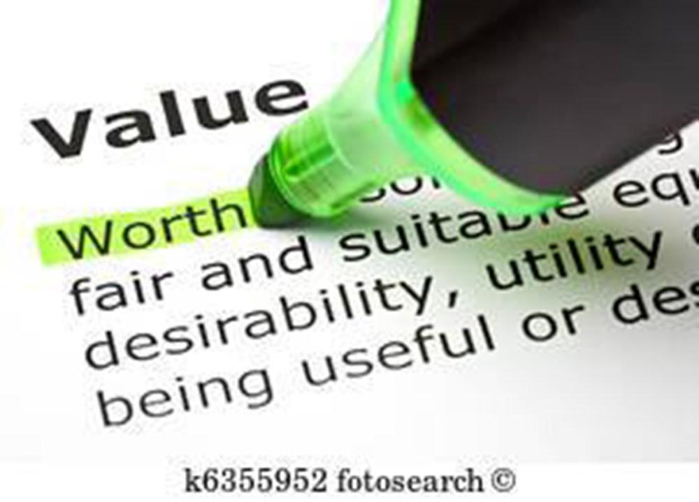 Values not Free