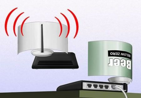 Amplificar el Wi-Fi con una lata de gaseosa