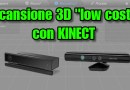 scansione 3d con kinect