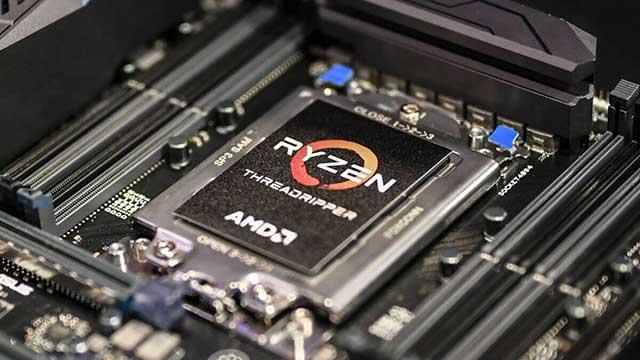 El gran socket de AMD Threadripper.