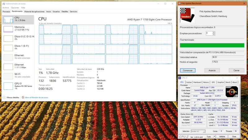 El Scheduler de Windows 10 y las CPU multicore