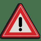 Afbeeldingsresultaat voor verkeersbord uitroepteken