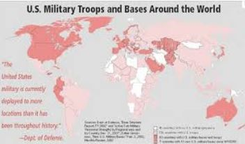 Respect: How the tentacles of the US military are strangling the planet