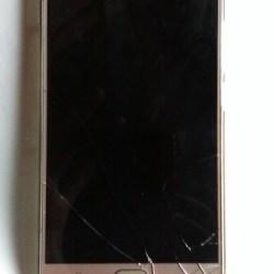 gionee m5 broken screen