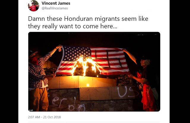 hondurans paint swastika on