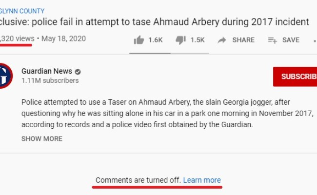 The Guardian Edits Out Footage Of Ahmaud Arbery