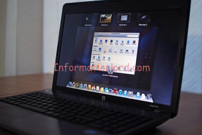 how to  mac os x on windows xp