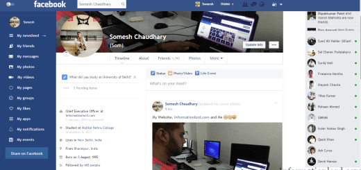 Activate Facebook Material User Interface on PC, Facebook Material UI For Chrome