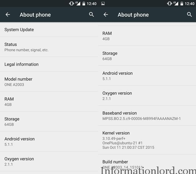 OnePlus 2 Oxygen OS2.1.1 Manual OTA Update