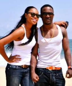 Iyanya and Yvonne