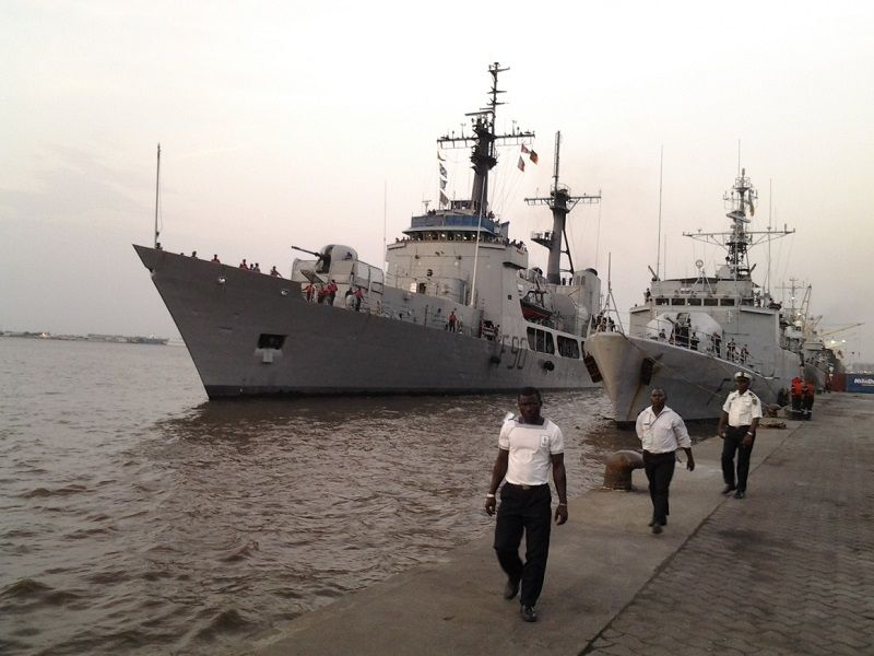 Half Of Naval Ships Are Grounded Cns Information Nigeria