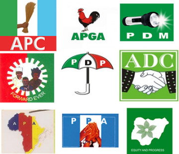 political parties logos  - Another mass defection hits PDP in Kwara