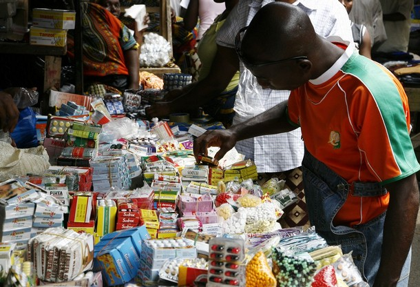 A man buys smuggled and/or counterfeit m