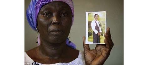 Chibok Mother cries