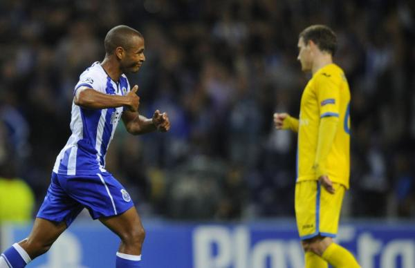 Brahimi is the First Porto Player to Score a Champions League Hat-Trick. Image: AFP/Getty.