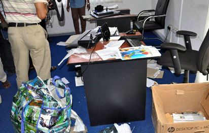 APC Data Centre raided by the DSS