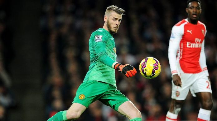 DeGea was voted man of match for his scintillating performance between the sticks