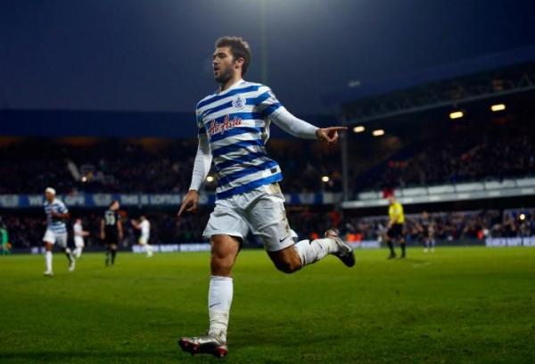 Charlie Austin Celebrates His Goal Against Burnley. Image: Getty.