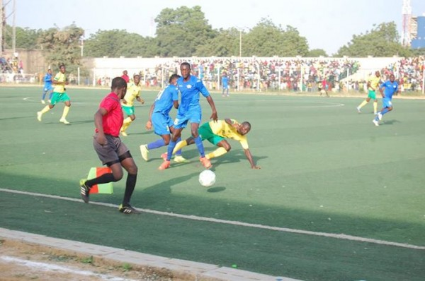 Kano Pillars During a 2013-14 Glo Premier League Match in Kano. Image: LMC.