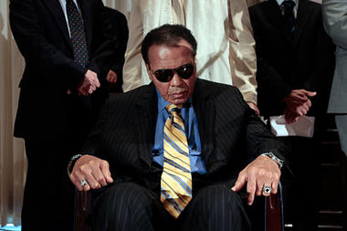 Mohammad Ali Has Been Suffering from Parkinson's Disease Since 1984.