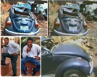 Ayefele's 1997 accident pictures