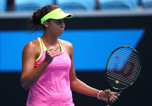 19-Year-Old American Madison Keys Reaches Her First Grand Slam Quarter-Final in Melbourne. Image: Tennis Australia.