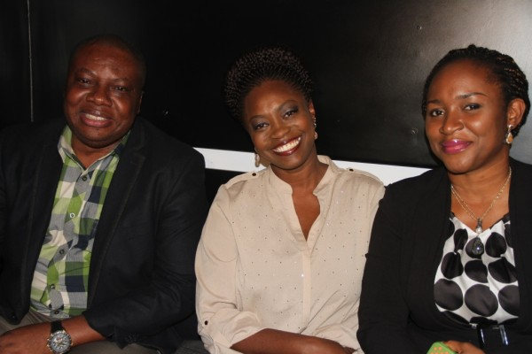 Pix 5(L-R): Vice President, Consumer Sales & Service, Etisalat Nigeria, Ken Ogujiofor; Nigerian Idol Season 5 Judge, Yinka Davies and Mrs Pedro, at the Etisalat sponsored Nigerian Idol Season 5 media launch, held in Ikoyi, Lagos, yesterday.