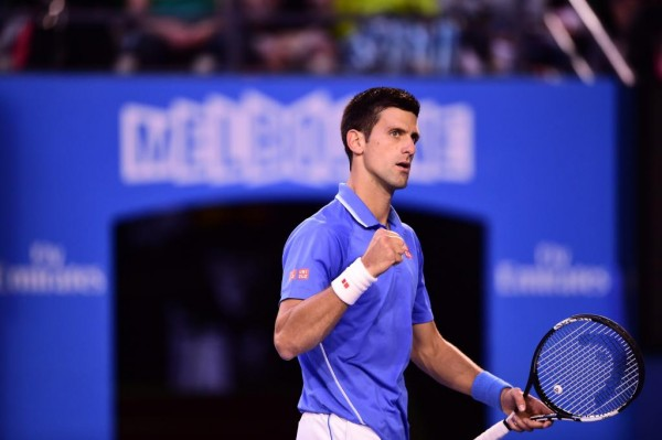 Djokovic Wins Andy Murray to Lift His Fifth Australian Open Title. Image: Getty via Tennis Australia.