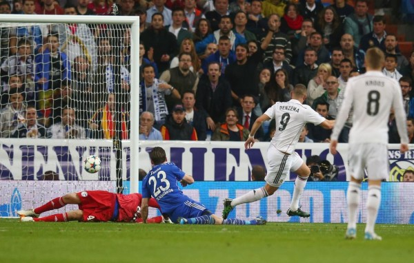 Karim Benzema Placed Real Madrid in the Lead After the Break. Image: AFP/Getty.