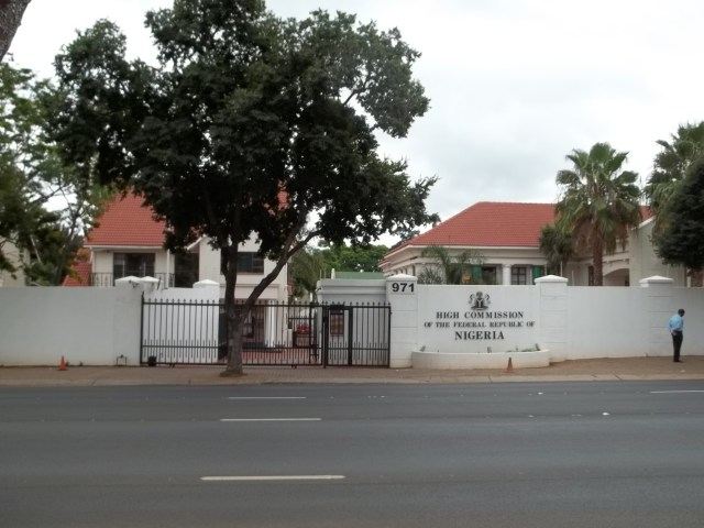 nigerian high commission in pretoria