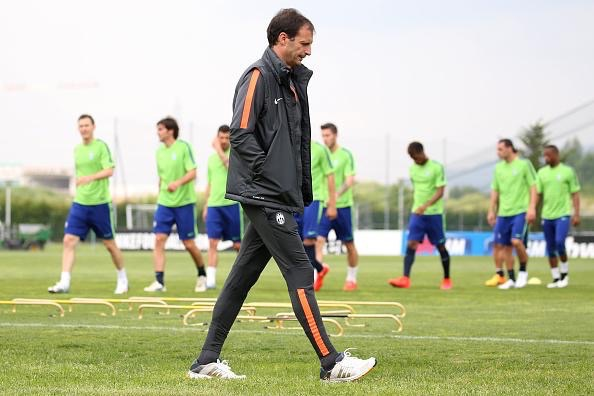 Massimiliano Allegri Says Juventus and Real Madrid Tie in the Semi-Final of the Champions League Should Not End in Stalemates. Image: Getty/AFP.