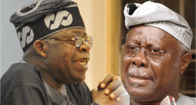 ''Tinubu Lobbied Abacha For Commissioner Position, Resorted To Activism When It Didnt Work'' - Bode George Makes Shocking Revelation About The APC Leader