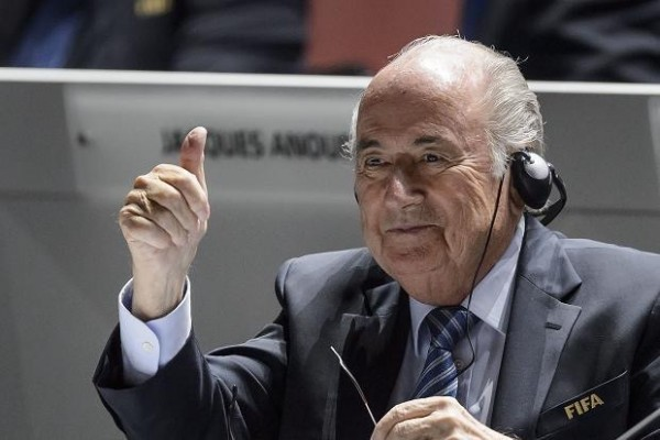 Sepp Blatter Has Been Told to Abide By Decision to Stand Down as FIFA President. Image: AFP.