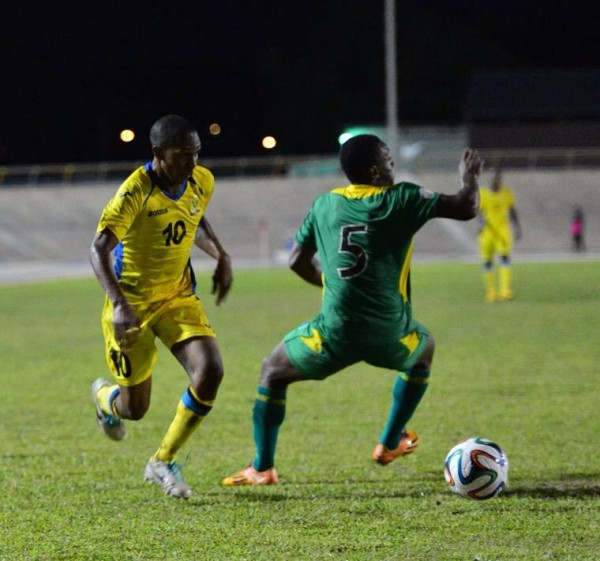 Barbados National Team in Training. Image: Barbados FA.
