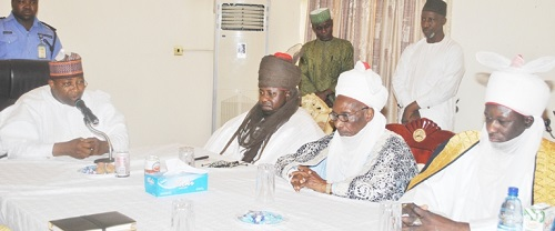 BAUCHI-STATE-COUNCIL-OF-EMIRS-VISIT-GOV-ELECT-IN-BAUCHI