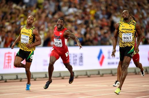 Usain Bolt Has Now Won Nine Gold Medals at the World Championships. Image: Getty.