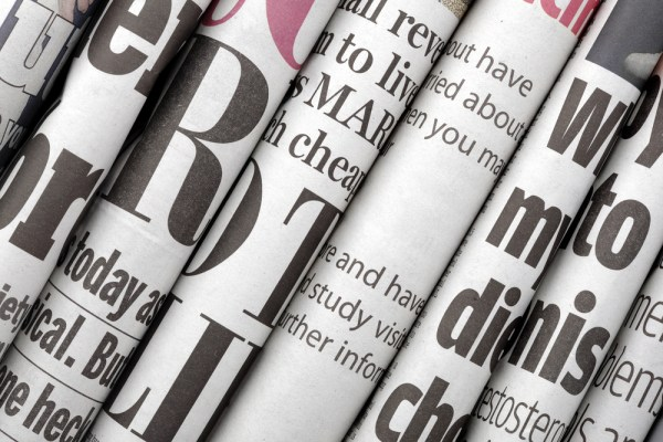 newspaper shutterstock 124029454 - Nigerian Newspaper Headlines Today: 14th March