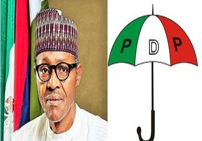 Image result for pdp and buhari