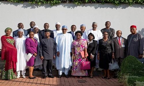 Buhari-Permanent Secretaries