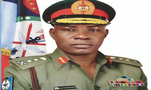 Chief of Defence Staff-Gabriel Olonisakin