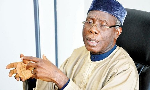 Audu Ogbeh - '90% of the rice we eat is being produced here' – Nigeria's Minister of Agriculture Audu Ogbeh
