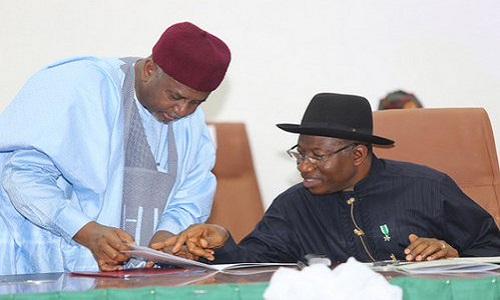 Sambo Dasuki-Goodluck Jonathan