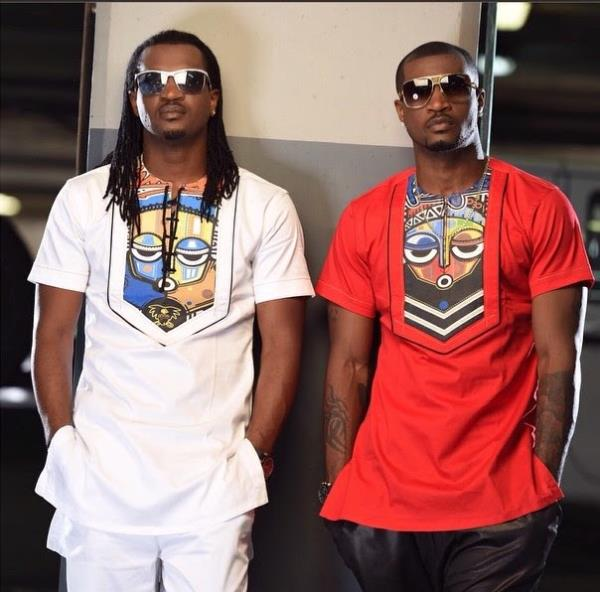 Image result for Peter Okoye to drag his twin brother, Paul to court for promoting show with his photo