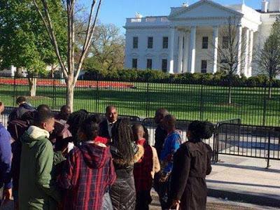 5-14 Photos: Kenneth Okonkwo Visits The White House
