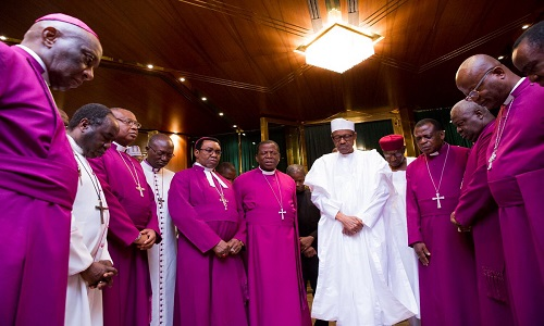 PMB-Primate and Archbishops of the Church of Nigeria