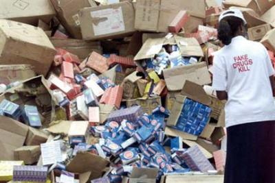 Image result for Customs seizes N400m worth of fake drugs