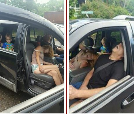 Police Release Shocking Photos Of Overdosed Parents With