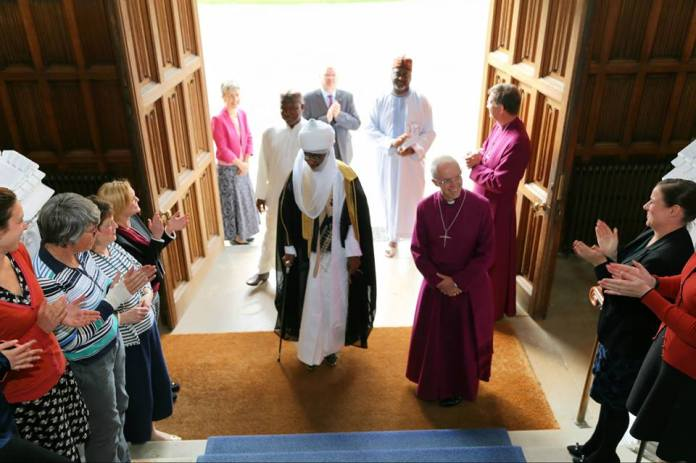 Image result for emir sanusi + Archbishop of Canterbury Justin Welby